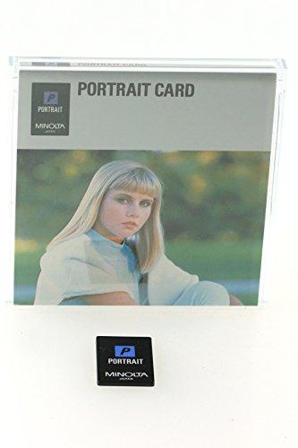 Minolta Portrait P Card Dynax 5000i 7000i 8000i 7xi OVP