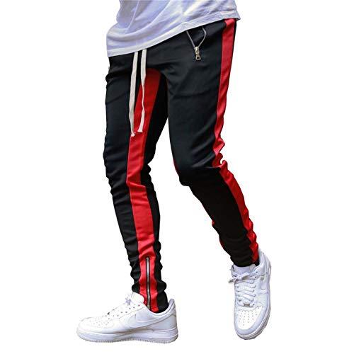 Huntrly Pantalones Casuales para Hombre Pantalones Deportivos para Correr de Ocio de otoño Pantalones para...