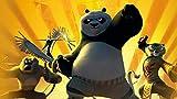 IUWAN Puzzle 1000 Piezas Kung Fu Panda Puzzle de Papel Juguete para niños Regalo 38x26CM