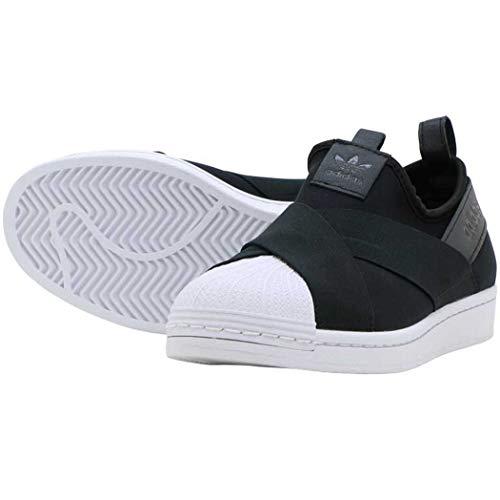 [アディダス] adidas エスエス スリッポン SS SLIP-ON コアブラック/コアブラック FW7051 アディダスジャパン正規品 23.5cm