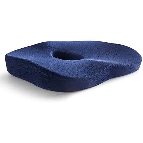 YEXINTMF Komfort-Sitzkissen - Anti-Akne-Sitzkissen Elderly Spine Taille Sedentary Artifact Ischiasnerv Hintern Pad Driving Hohle Akne Fart Pad