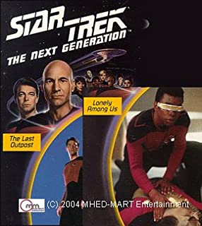 Star Trek - The Next Generation: Episodes 5' The Last Outpost & 7' Lonely Among Us (Laserdisc)
