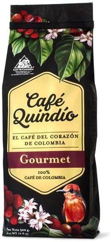 Coffee Quindio Gourmet 500g 17 6oz Whole Beans 100 Arabica Coffee