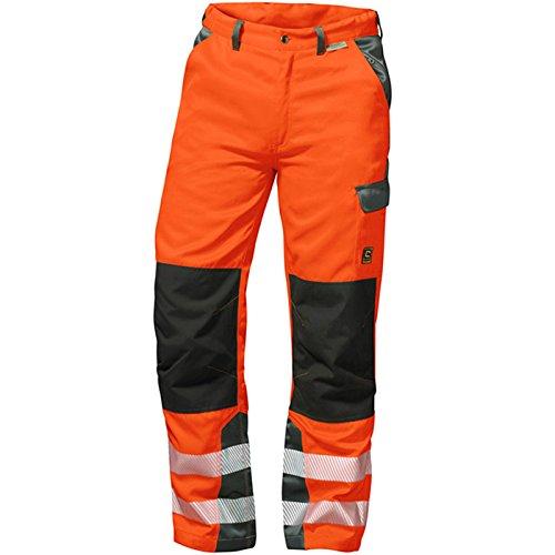 Elysee 22729-54 Warnschutz Bundhose Nizza Größe 54 in orange/grau