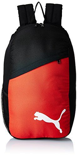 PUMA Rucksack Pro Training Backpack - Bolsa Red para balones de fútbol, Color Negro (Black-puma Red-White), Talla UA