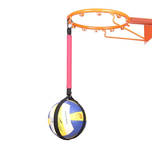 TopFan Volleyball Spike Training System: Great Trainer to Improve Your Wicked-Fast Arm Speed and Spiking Power (Black)
