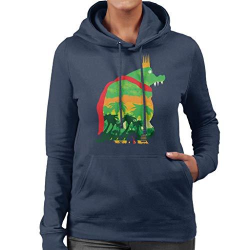 King K Rool Island Quest Donkey Kong Women's Hooded Sweatshirt