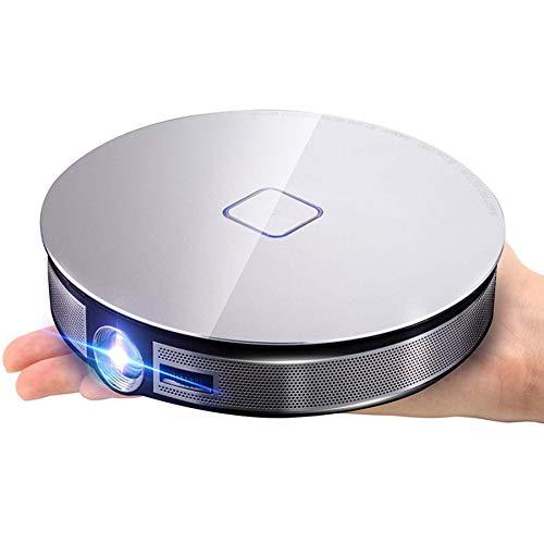 ROSELI D8S 4K DLP Projektor 1280X720P, Android 6.0 (2G + 16G) Drahtloser 3D Beamer mit Gleichem Bildschirm für Heim Kino EU Stecker