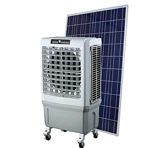 JHTD Enfriador de Aire portátil 3 en 1, Ventilador y humidificador, Enfriador de Aire de Baja energía, Potente para Interiores, hogares, Oficina, Dormitorio, evaporativo portátil