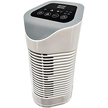 American Micronic-AMI-AP1-22Dx- Air purifier, 22 Watts with HEPA filter, Activated Carbon filter and Ionizer (Ivory & Grey)