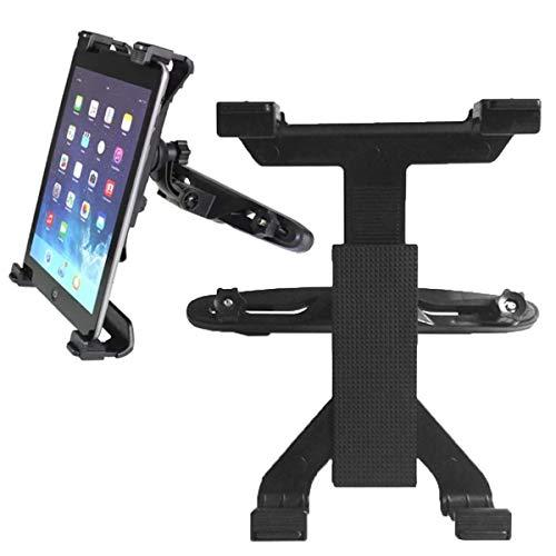 Esenlong Support de siège de voiture universel réglable pour appuie-tête de voiture - Support pour tablette 7 à 11 DVD portable (noir)