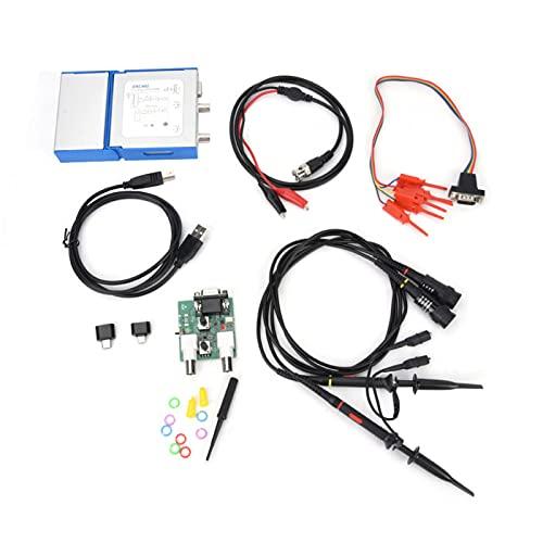 Generador de señal Osciloscopio digital Osciloscopio virtual móvil 4 canales Portátil para líneas de producción para empresas para ordenadores portátiles
