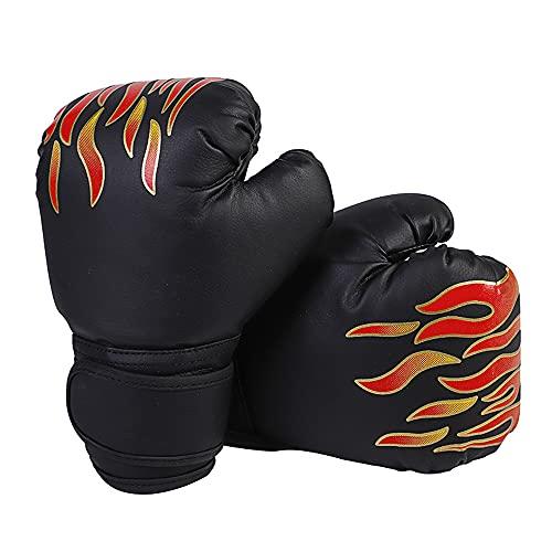 CJBIN Boxhandschuhe für Kinder, PU Leather Box-Handschutz für Kinder, von 3-16 Boxsack für Kinder Gloves zum MMA, Muay Thai, Kickboxen und Sandsack Sport (60 Z)