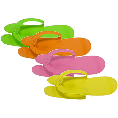 Disposable Pedicure Slippers Flip Flop Nail Salon Sandal (Mixed)
