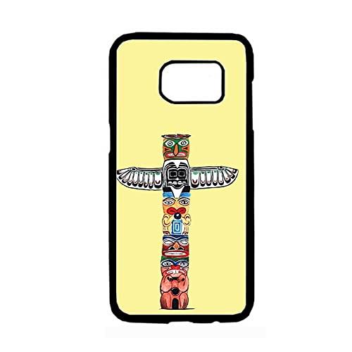 Impresión Totem Compatible para Samsung S 8 Plus Cajas del Teléfono Plástico Rígido Niño Bonita