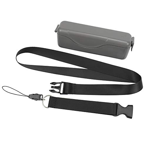 Rantow wasserdichte robuste Mini-Tasche mit verstellbarem Umhängeband – tragbare Hartschalen-Tragetasche, kompatibel mit DJI Osmo Pocket Gimbal Kamera