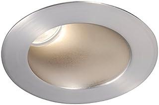 Black WAC Lighting R3ARDL-F827-BK Aether Round Invisible Trim with LED Light Engine Flood 40 Beam 2700K Warm White