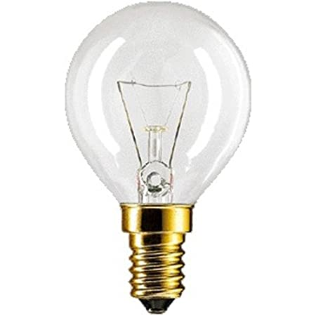 Philips Ampoule Ronde 40W E14 P45 x 78 pour Four