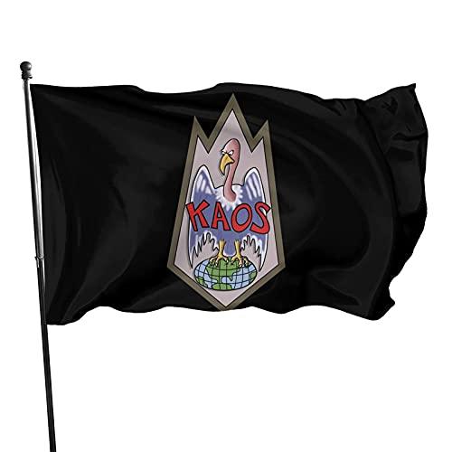 DRXX KA-OS Bandiere con Occhielli Banner Banner Bandiera da Giardino Bandiera per Auto Bandiera Americana Bandiera elettorale, Decorazione Sportiva per Interni ed Esterni 150x90 cm