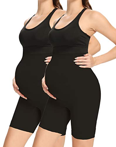 Shapewear for Pregnancy, 2 Pack of Black, X-Large