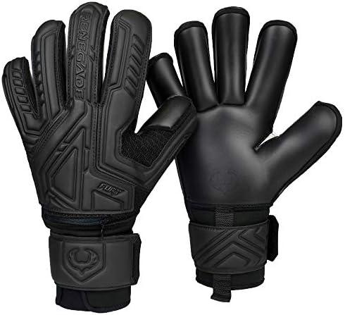 Renegade GK Fury Nightfall Goalie Gloves with Pro Tek Finger Protection 4mm Giga Grip 4mm Duratek product image