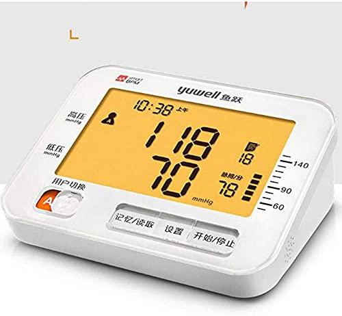 Sphygmomanómetro de muñeca automática, medidor de presión arterial Instrumento de medición para el hogar Medidor de presión arterial electrónica de alta precisión instrumento de presión de plato