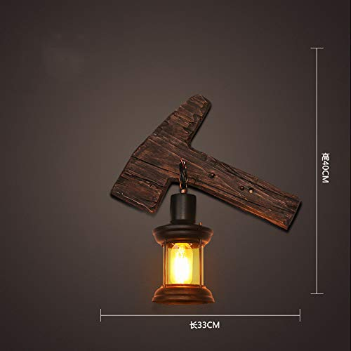Helles Retro- industrielles Windwandlampenbarkaffeerestaurant nostalgisches dekoratives Lichtgangwand decorat