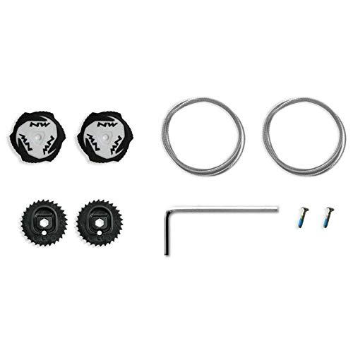 Northwave Kit Completo Cierre Zapatillas SLW2 Negro-Blanco