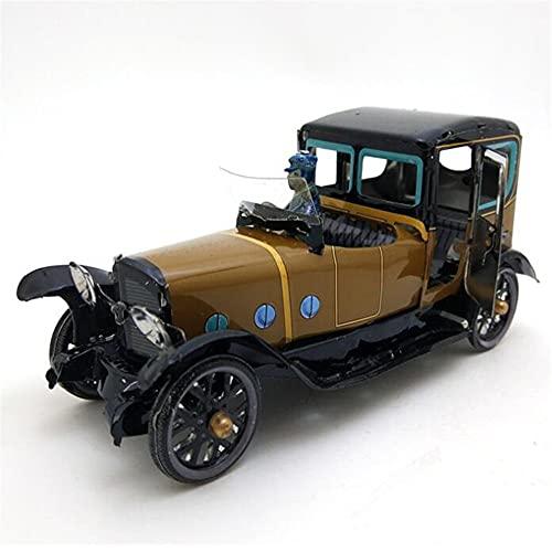 Auto Modelo Colección De Coches Retro Vintage, Juguetes De Hojalata, Juguetes De Hojalata De Cuerda, Juguetes De Hojalata para Niños Adultos, Regalo Coleccionable
