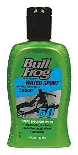 BullFrog Water Sport SPF 50 Sunscreen Lotion 5 oz