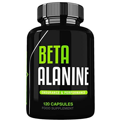 Beta Alanine 750mg Capsules by Freak Athletics - 120 Capsules Premium Beta Alanine Supplement UK Made Suitable for Men & Women
