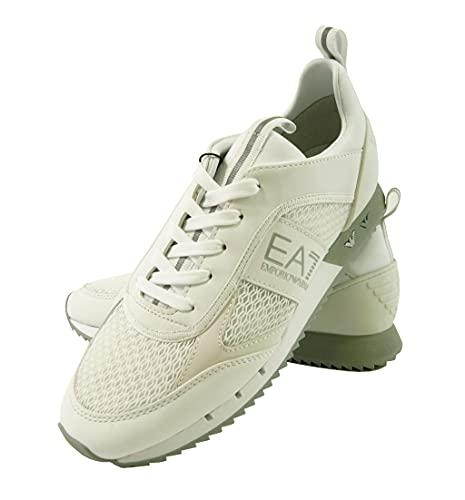 [エンポリオアルマーニ] EA7 スニーカー メンズ ホワイト シューズ 靴 (メーカーサイズ:9.5) A-2797 [並行輸入品]