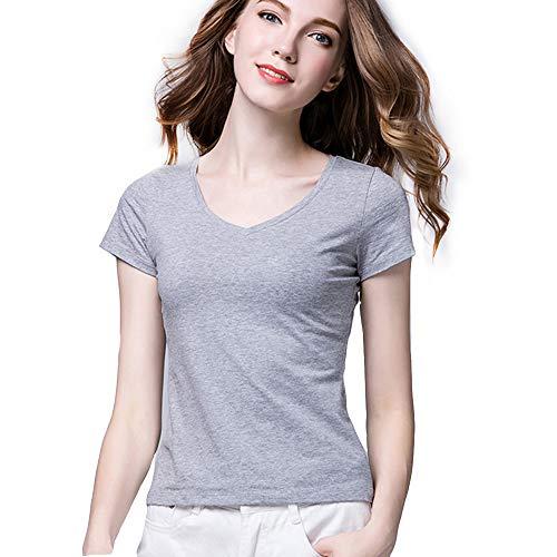 Camiseta de Mujer de Manga Corta Modal Europea y Americana