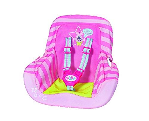 Zapf Baby Born Car Seat Doll Travel Seat - Accesorios para muñecas (Doll Travel Seat, 3 año(s),, 43 cm, 250 mm, 200 mm)
