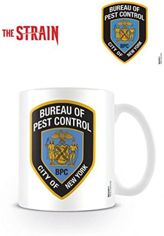 The Strain Tasse à Café Mug  Bureau Of Pest Control (9 x 8 cm)