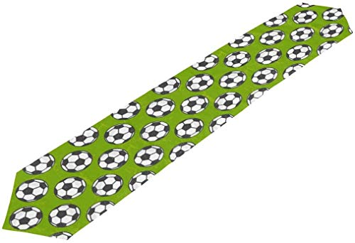 BONRI Blue Table Runner Football Soccer Pattern Table Cloth Long Rectangle Table Top Decor for Home Kitchen Dinner Party-13x70(in)