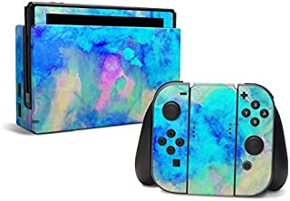 Electrify Ice Blue - Decal Sticker Wrap - Compatible with Nintendo Switch