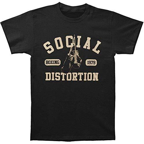 GSBTX® Social Distortion Funny Boxing Gloves Men's Short Sleeve T-Shirt