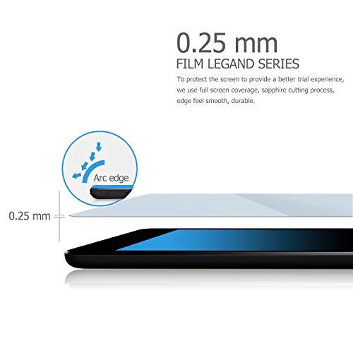 IVSO Displayschutz für Samsung Galaxy Tab A 10.1 2019 T515/T510, 9H Härte, 2.5D, Displayfolie Schutzglas Displayschutz Für Samsung Galaxy Tab A 2019 T515/T510 10.1 Zoll, (1 x)
