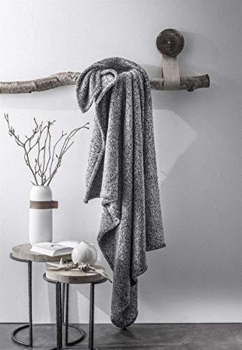 Today Furly Couvertures et plaids, Gris, 125x150cm