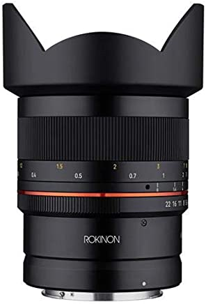 $499 Get ROKINON 14mm F2.8 Ultra Wide Angle Weather Sealed Lens for Canon R Mirrorless Cameras