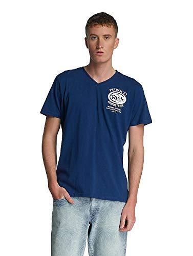 Petrol Industries Hombres Camisetas Rude