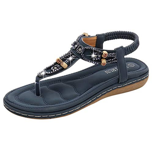 Bohemian Casual Strass Sandalen Damen Sandalen Strand Schuhe Mode Neue Damenschuhe