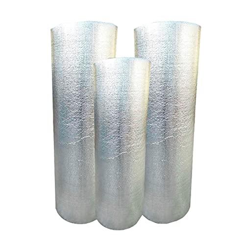 Termoriflettente Termosifone, Isolamento Termico Alluminio Rivestimento Isolante Pannello Riflettente Termosifoni High Temp Resistente Al Calore In Lamina Isolamento Per Uso Do(Size:1x15m 3.2x49.2ft)