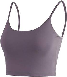 Yoga Bra Shockproof Cross Shoulder Strap Removable Chest Pad Vest Quick-drying Women's Sports Bras