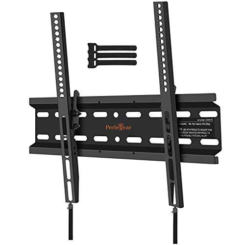 Support Mural TV Inclinable pour LED, LCD, OLED, TV à Écran Plat de 23 à 55 Pouces
