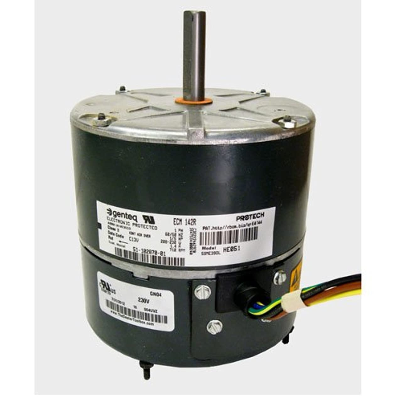 OEM Upgraded Carrier 1/5 HP 208-230v ECM Condenser Fan Motor HC38GR235