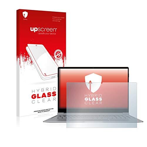 upscreen Hybrid Glass Panzerglas Schutzfolie kompatibel mit TrekStor Primebook P15 9H Panzerglas-Folie