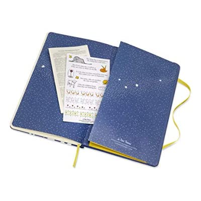 Moleskine Weekly Agenda 18 Months Limited Edition Petit Prince 2019//2020 Diary