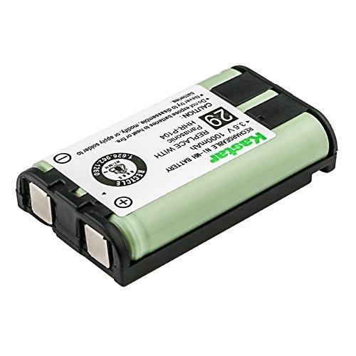 KX-TGA520M Cordless Phone Battery Ni-MH, 3.6 Volt, 850 mAh - Ultra Hi-Capacity - Replacement for Panasonic HHR-P104 Rechargeable Battery